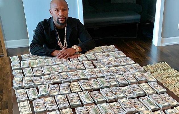 Floyd Mayweather solo pelearía contra McGregor o Khabib por $600 millones