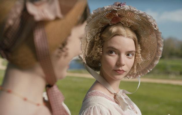 Anya Taylor-Joy es una Emma esnob vanidosa. Foto / Focus Features.