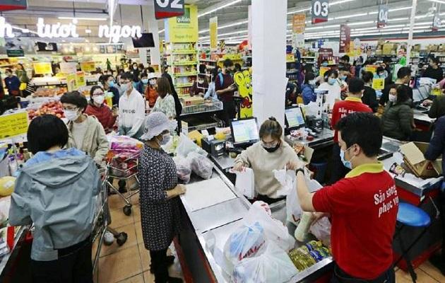 La epidemia de coronavirus frena el comercio exterior chino, que cae un 9.6 por ciento