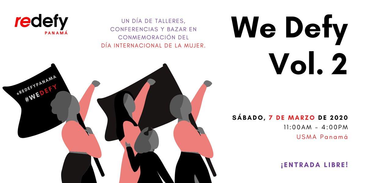 Redefy tiene hoy 7 de marzo hasta las 4:00 p.m. en Casco Antiguo,  donde desarrollarán diversas activiades en torno a la Mujer.