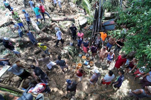 Ascienden a 39 los muertos y a 41 los desaparecidos por fuerte temporal en Brasil
