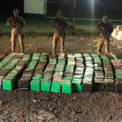 Senan decomisa 3,979 kilos de cocaína en una embarcación en Bocas del Toro
