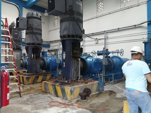 Idaan anuncia baja presión de agua en Panamá y San Migueltio,  por colapso en la potabilizadora de Chilibre