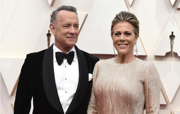 Tom Hanks y su esposa Rita Wilson dieron positivo a prueba de coronavirus