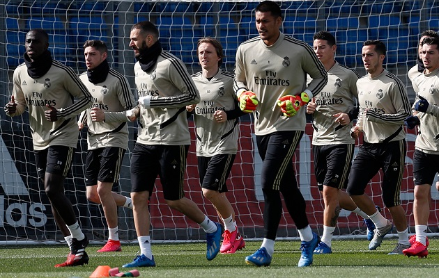 Real Madrid, en cuarentena tras confirmarse el primer caso de coronavirus en la plantilla