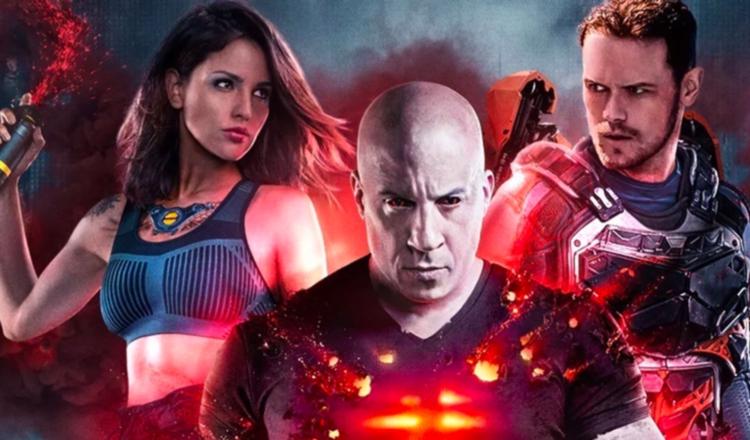 Vin Diesel es un superhéroe en Bloodshot