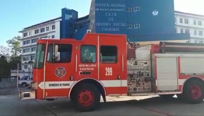 Cafetera causó humo en el cuarto piso del hospital Rafael Hernández