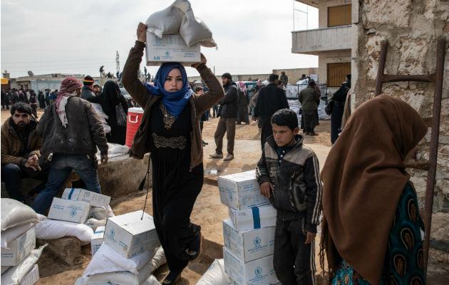 Mueren los niños sirios de frío y 'a nadie le importa'