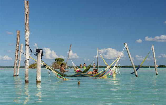 'Laguna de los Siete Colores' es una popularidad mexicana