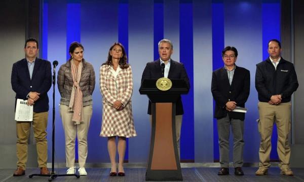 Colombia cierra frontera con Venezuela y aplica restricciones a los viajeros de Europa y Asia