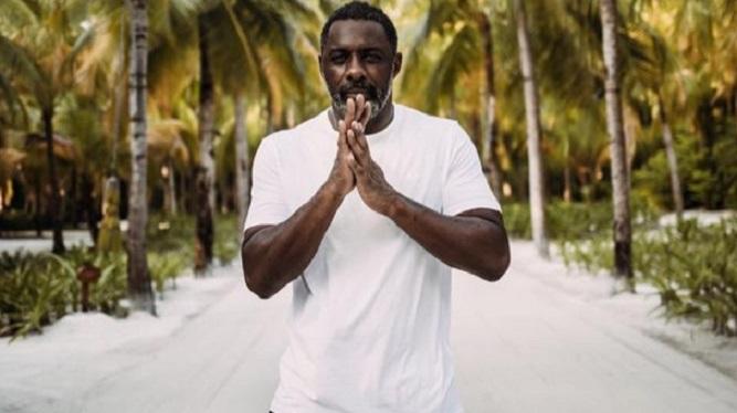 Actor Idris Elba confirma que dio positivo al coronavirus