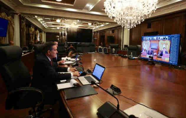 Coronavirus en Panamá: Gobierno realiza primer gabinete virtual por COVID-19