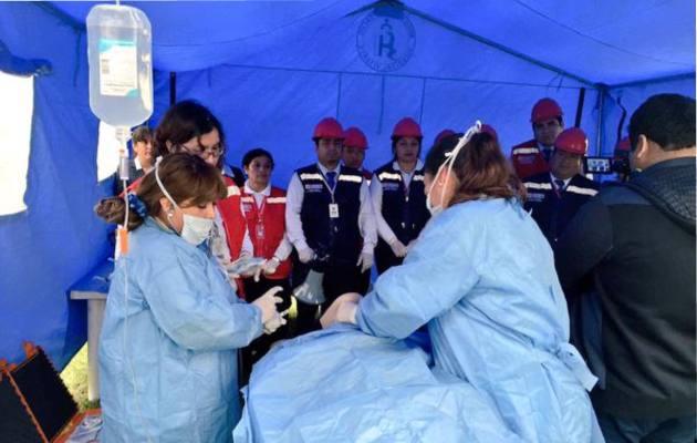 Coronavirus en Panamá: Minsa inicia instalación de módulos para atender a paciente con COVID-19