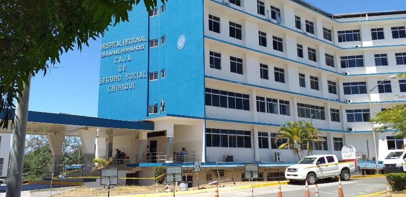 Coronavirus en Panamá: En Chiriquí autoridades de la C.S.S. suspenden visitas en el hospital Rafael Hernández