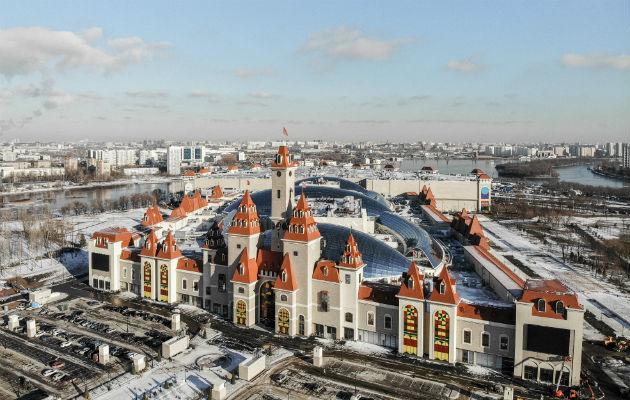 Moscú tiene un parque inspirado en los de Disney