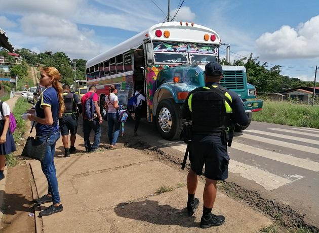 Coronavirus Panamá: Suspenden servicios en algunas rutas de transporte en Panamá Oeste