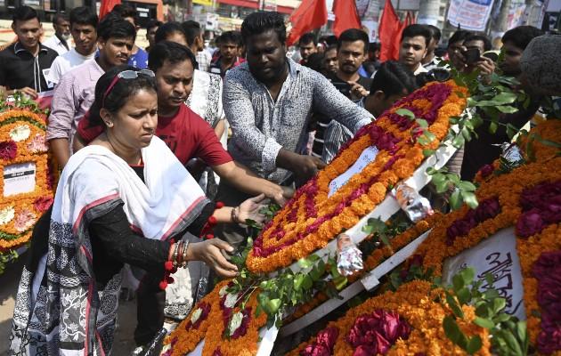 Resurge lucha por la seguridad en fábricas de Bangladesh