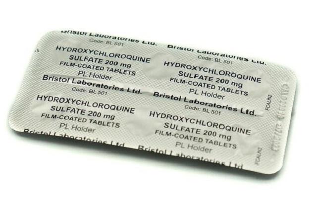 hidroxicloroquina y cloroquina tableta