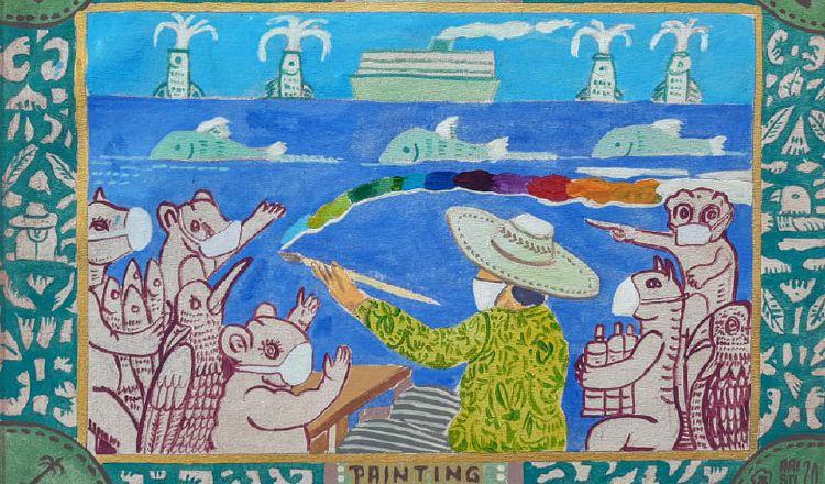 Coronavirus en Panamá: Cuarentena no ha secado la fuente de inspiración de los artistas