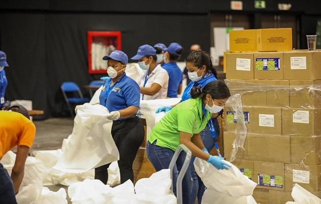 Coronavirus en Panamá: Añadirán frutas, vegetales y carnes a las bolsas de alimentos del programa 'Panamá Solidario'