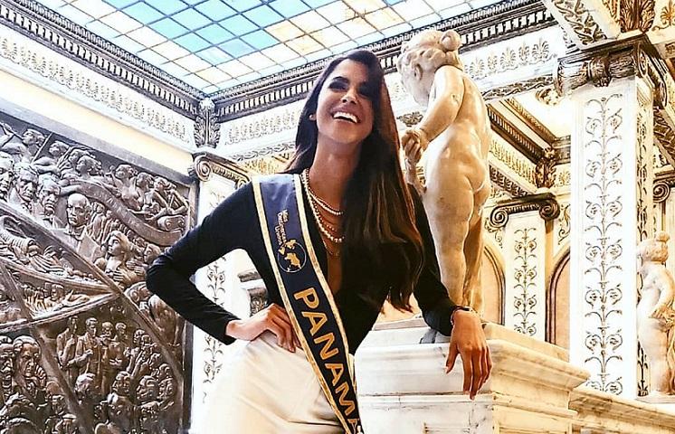 Carmen Jaramillo fue elegida como Señorita Panamá 2020