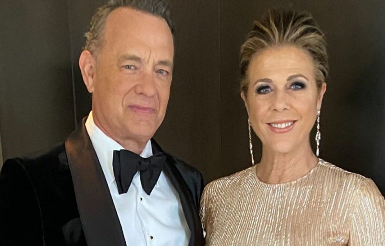 Tom Hanks y Rita Wilson. Instagram