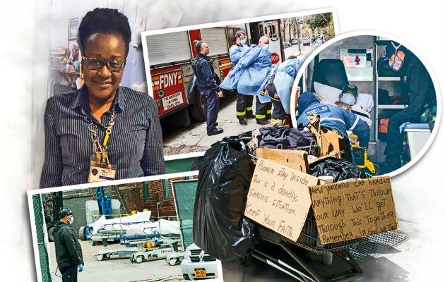 ¡EXCLUSIVA! Beatriz Chichester,  la panameña que cuida de los desamparados en New York, epicentro del COVID-19 en Estados Unidos