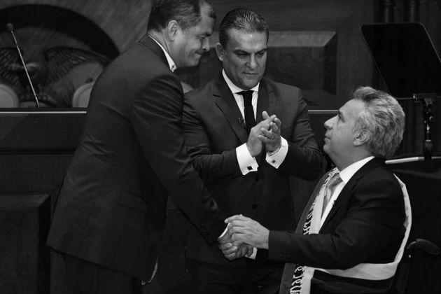 Ecuador en la zaga de las potencias