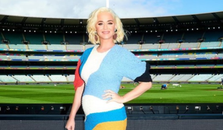 Katy Perry está esperando una niña. Foto: Instagram