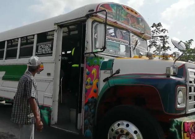 Se agrava sector transporte en Panamá Oeste, Sicamoch pide ayuda