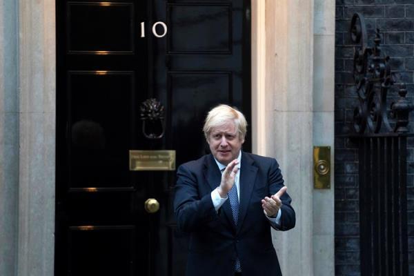 El primer ministro británico Boris Johnson llama a su sexto hijo Wilfred Lawrie Nicholas