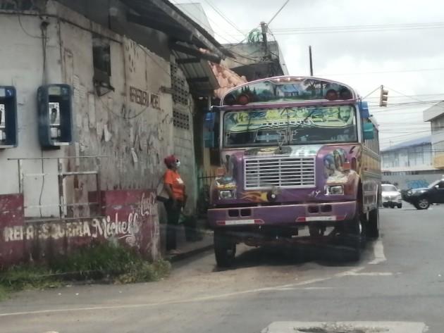 Aumentan a 50 centésimos el pasaje en la ruta interna de El Progreso en La Chorrera