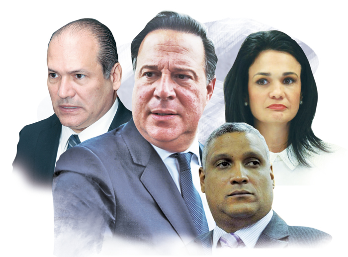 Expedientes de Juan Carlos Varela, Isabel De Saint Malo, Jerónimo Mejía y Harry Díaz serían remitidos al Ministerio Público