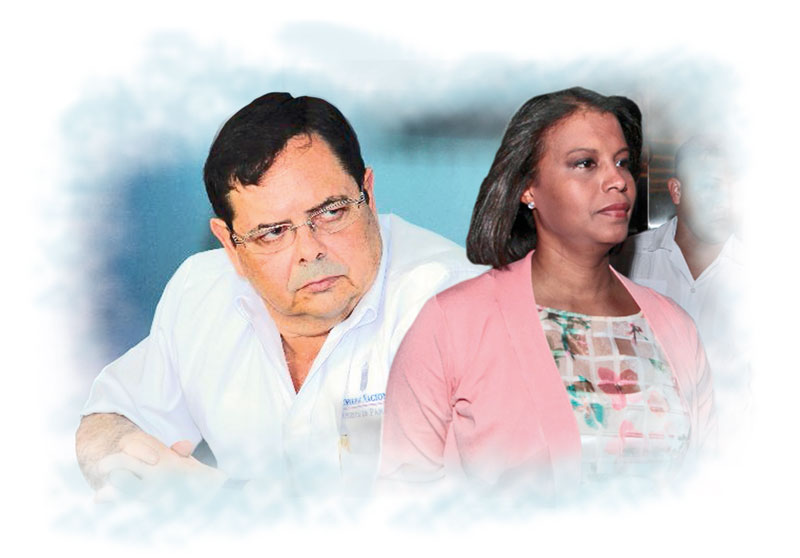 Fiscal Zuleyka Moore se 'ensaña' con Luis Cucalón y lo ve como un 'trofeo de guerra'