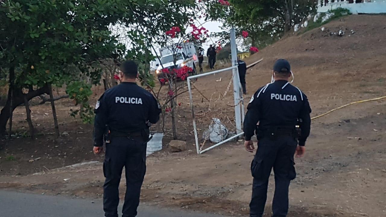 Triple homicidio en el sector de Tres Quebradas de Los Santos