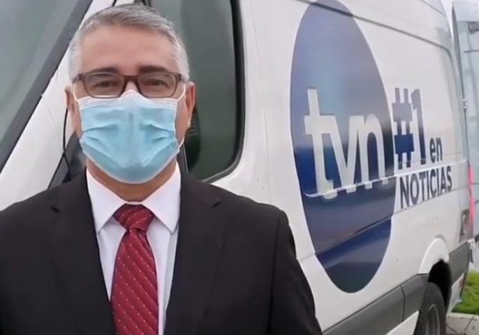Periodista Rolando Aponte regresa a sus labores tras ganarle la batalla al COVID-19