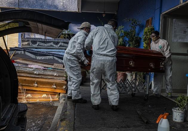 México ignora una oleada de muertes en la capital