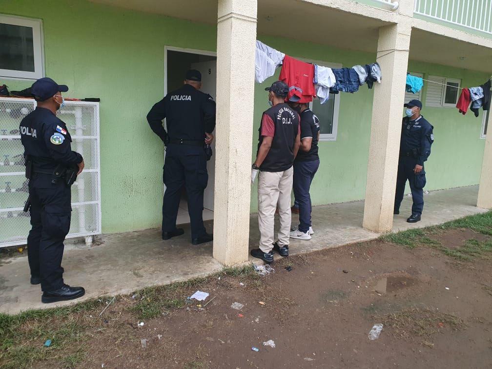 Diez detenidos en el 'Operativo Caribe' en Alto de Los Lagos en Colón