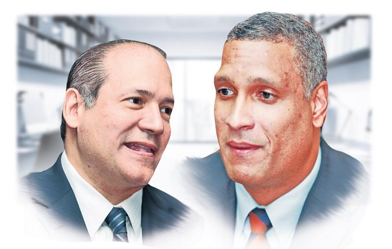 Harry Díaz y Jerónimo Mejía.