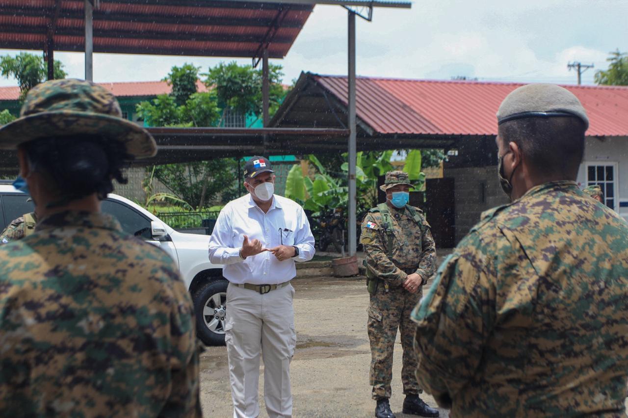Para combatir al crimen organizado refuerzan al Batallón Este del Senafront de Chepo