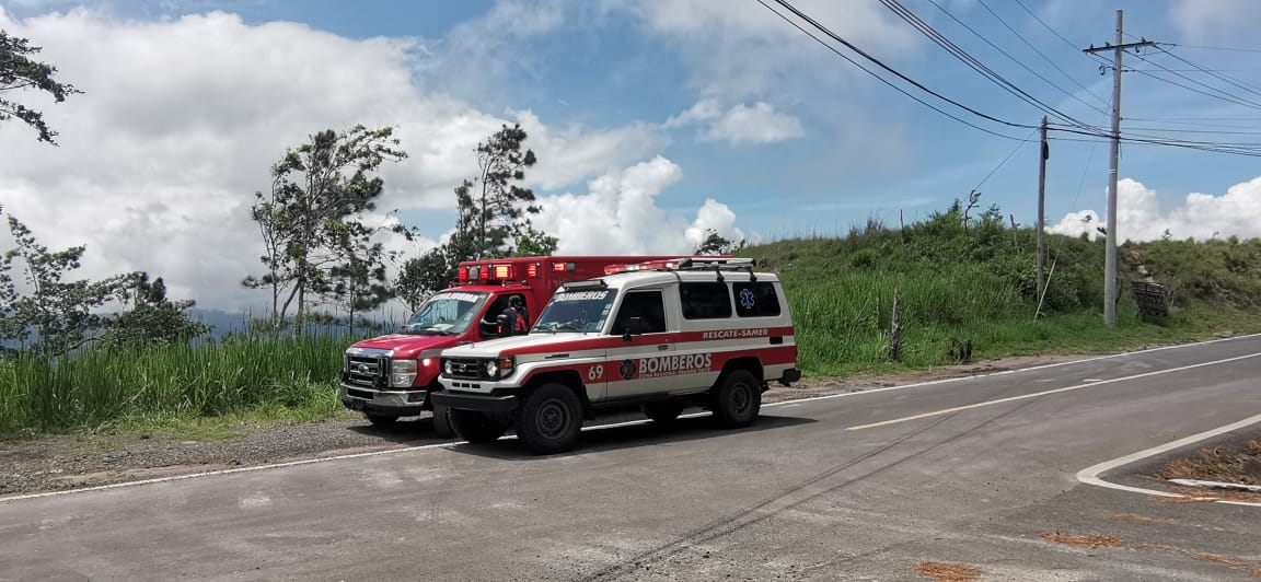 Siete personas fueron afectadas por un rayo en Cerro Las Gaitas, Capira