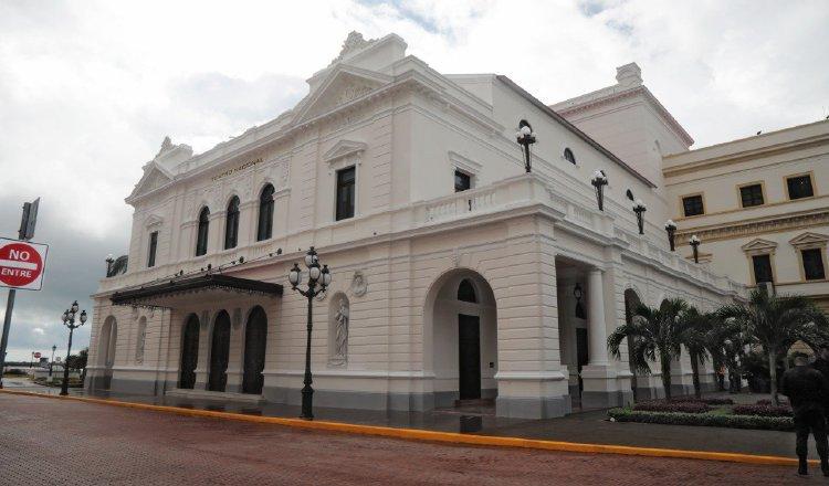 Desembolsan B/. 465.631.50 a por los trabajos de restauración del Teatro Nacional
