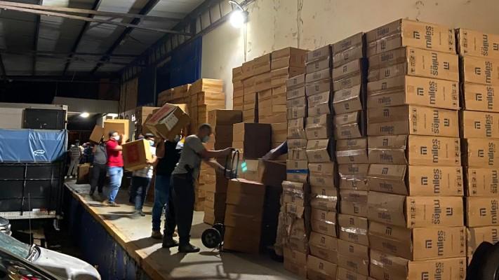 Decomisan más de medio millón de dólares en cigarrillos de contrabando en Chiriquí