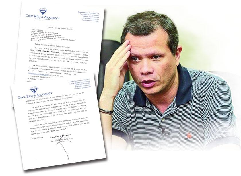 West Valdés ha sido transformado en 'caudillo de la justicia panameña'