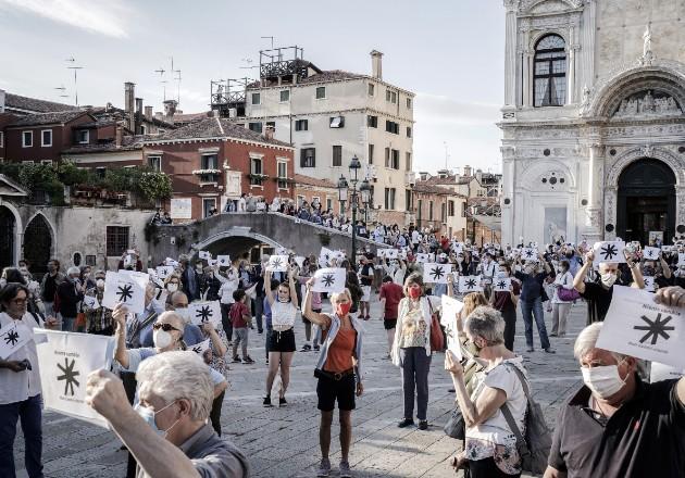 El confinamiento global podría beneficiar a venecianos