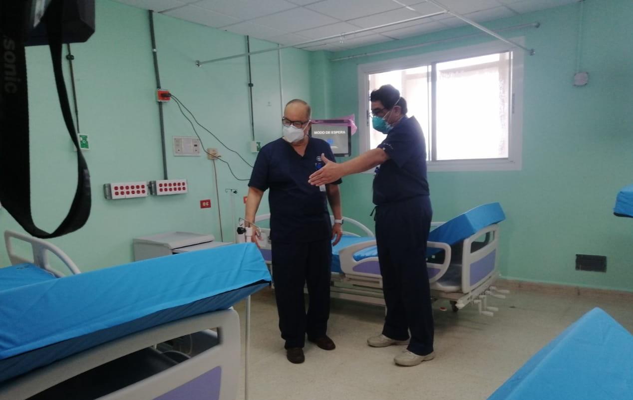 CSS habilita sala de neurocirugía del Complejo Hospitalario para pacientes con COVID-19