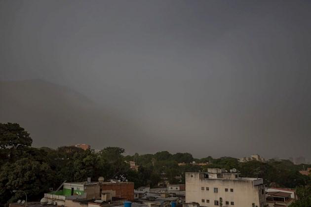 Una enorme nube de polvo del desierto del Sahara cubre parte del Caribe