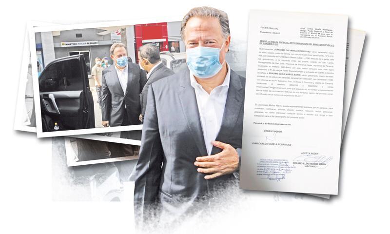 'Visita social' al Ministerio Público de Juan Carlos Varela fue un 'show'