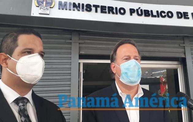 Expresidente Juan Carlos Varela se presentó ante el  Ministerio Público presionado por el caso Odebrecht