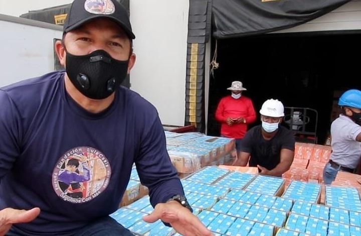 Luis Casis aclara que él no tuvo nada que ver con la entrega de unos jugos vencidos en Chepo